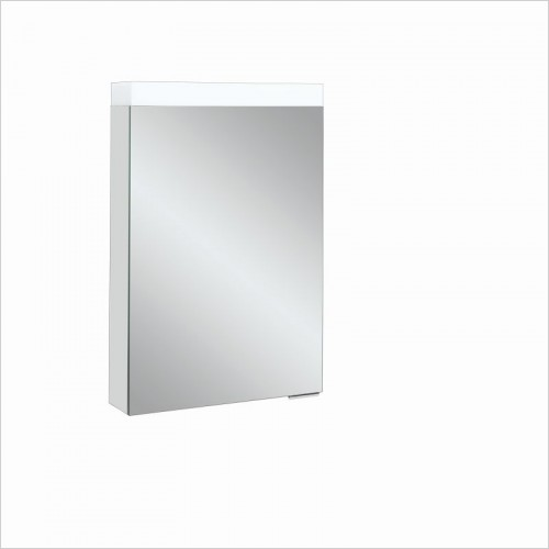 Crosswater Bathroom Furniture - Image Illuminated Cabinet 500x700mm Universal L/R