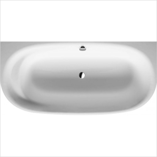 Duravit Baths - Cape Cod Bathtub 1900x900mm Back-To-Wall