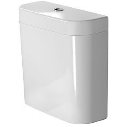 Duravit Optional Extras - Happy D.2 Cistern Dual Flush (6/3L) 3/8''