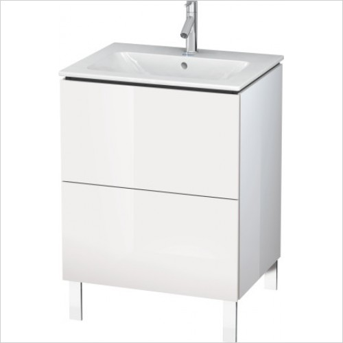Duravit Furniture - L Cube Vanity Unit Freestanding 620 F 233663, 2 Drawer