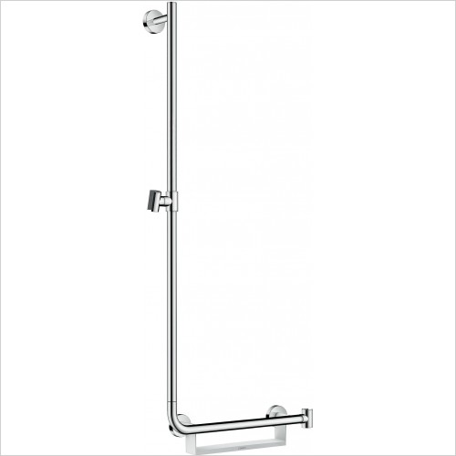 Hansgrohe Showers - Unica Comfort Wall Bar 1.10m L