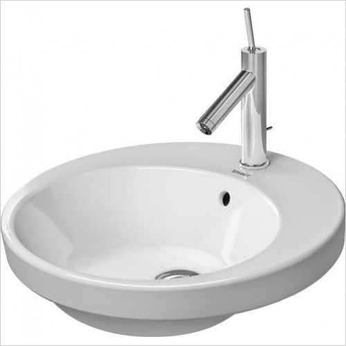 Duravit - Basins - Starck 2 Vanity Basin 480mm Countertop 1TH