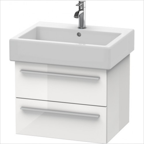 Duravit Furniture - X-Large Vanity Unit 448x550x443mm - White High Gloss -XL6344