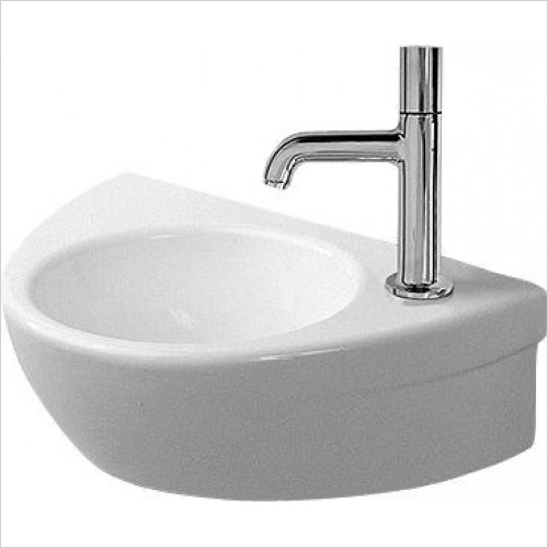 Duravit - Basins - Starck 2 Handrinse Basin 380mm TH Pre-Punched