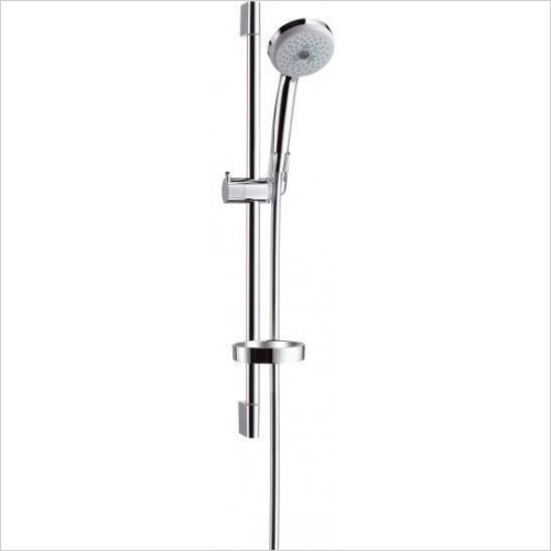 Hansgrohe Showers - Croma 100 Multi/Unica'C Bathroom Shower Set 0.65m