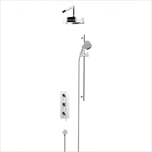 Heritage Showers - Somersby Recessed Shower With Deluxe Fixed Head