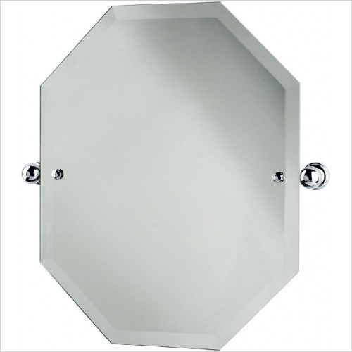 Perrin and Rowe Accessories - Traditional Octagonal Mirror 625 x 500mm