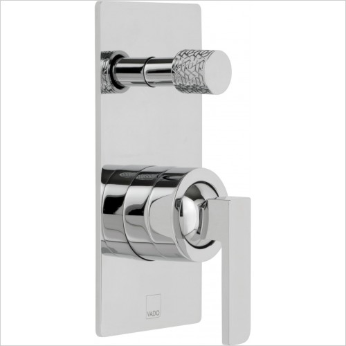 VADO Showers - Omika Concealed Single Lever Wall Mounted Manual