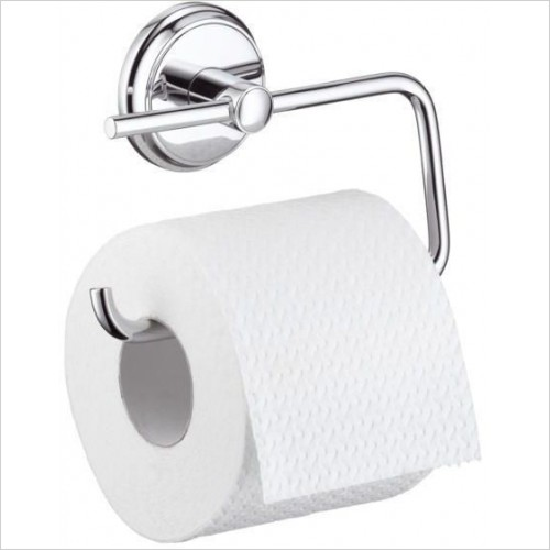 Hansgrohe - Accessories - Logis Classic Roll Holder Without Cover