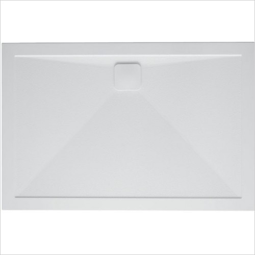 Simpsons Showers - Rectangular Anti-Slip 25mm Shower Tray 1000