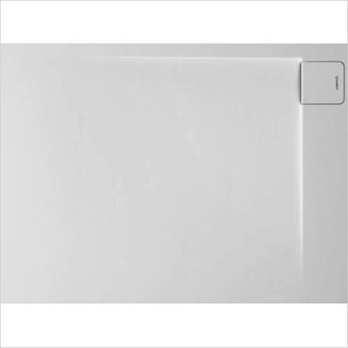 Duravit Showers - P3 Comforts Shower Tray 1200x900mm Rectangle Corner Right
