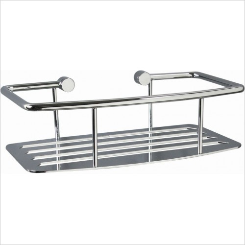 Miller Accessories - Classic Shower Shelf D Shaped
