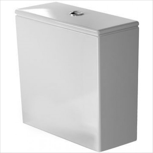 Duravit Optional Extras - DuraStyle Cistern With Dual Flush 6L F 3/8''