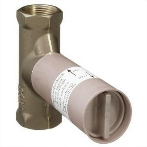 Hansgrohe Optional Extra - Basic Set Shut Off Valve With Spindle 1/2''