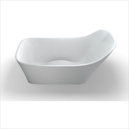 Clearwater Baths - Nebbia Slipper Bath 1600 x800mm
