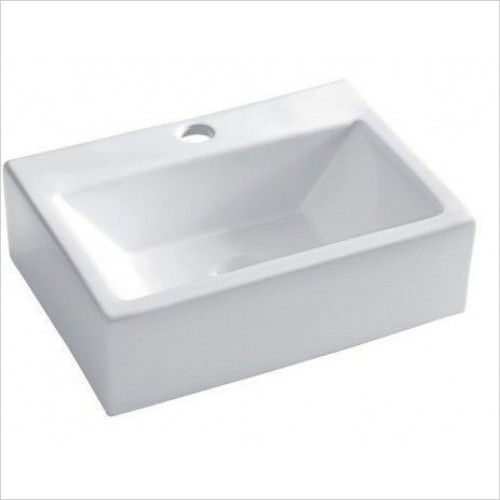 Crosswater Basins - Gerona Wall Mounted Counter Basin 425mm