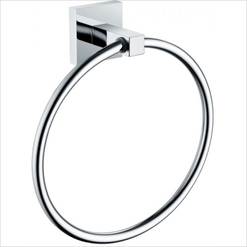Bristan Accessories - Square Towel Ring