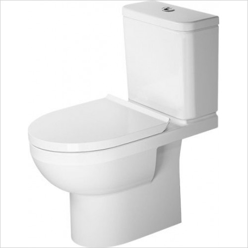 Duravit - Toilets - Basic Durastyle CC Toilet 650mm Rimless, Washdown