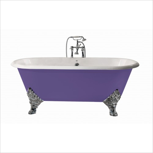 Heritage Bathtubs - Grand Buckingham Bath With Tap Holes