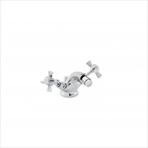 Heritage Taps - Dawlish Bidet Mixer Tap in Chrome