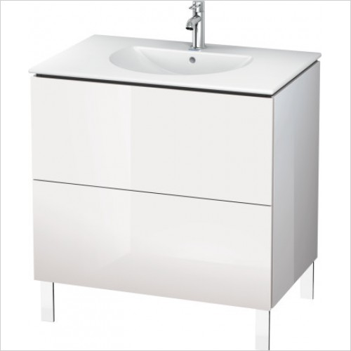 Duravit Furniture - L Cube Vanity Unit Freestanding 820, F 049983, 2 Drawer