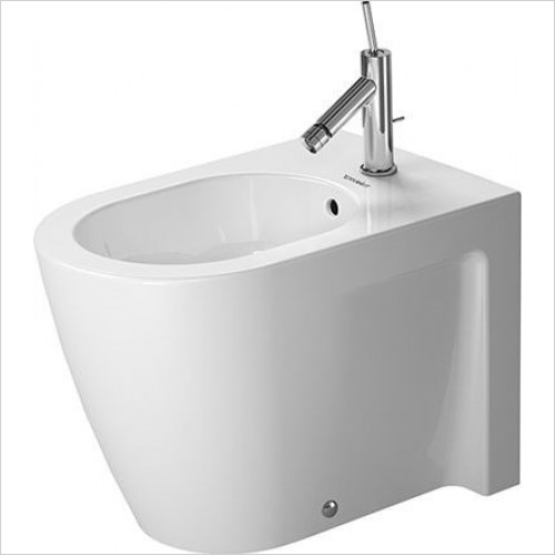 Duravit - Toilets - Starck 2 Bidet Floorstanding 570mm 1TH Closed