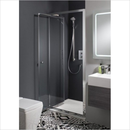 Simpsons Shower Enclosures - Edge Infold Door 700mm