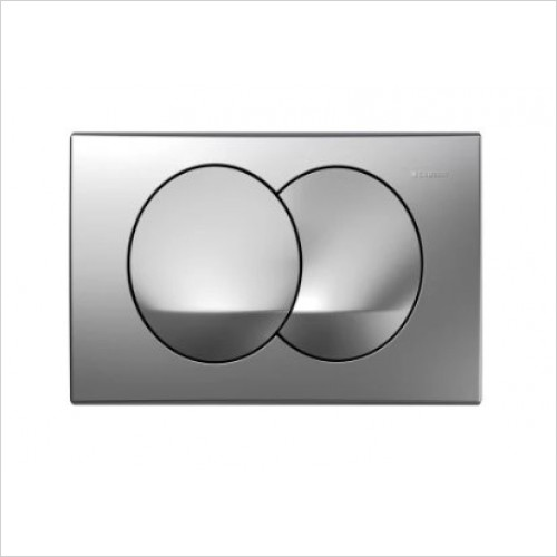 Geberit Optional Extras - Flush Plate Delta20 For Dual Flush