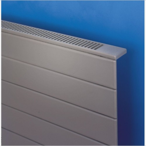 Bisque Radiators - Decorative Panel Radiator Horizontal Pattern 507 x 600mm