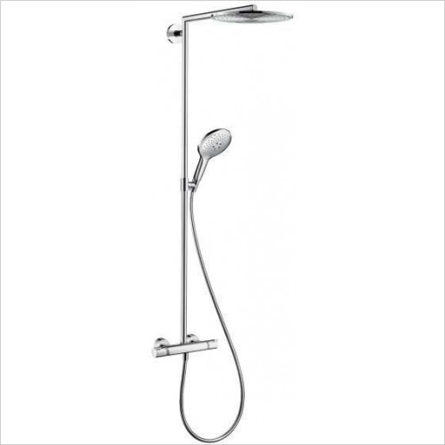 Hansgrohe Showers - Raindance Select Showerpipe - All in One Shower Set  300mm