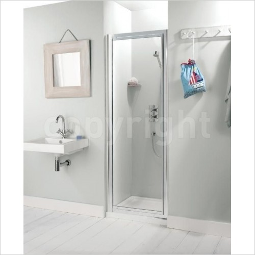 Simpsons Shower Enclosures - Supreme Pivot Door 600mm