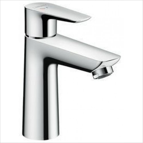 Hansgrohe Taps - Talis E Single Lever Basin Mixer 110 Coolstart Without Waste