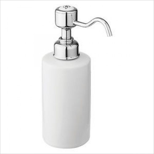 Burlington Accessories - Soap Dispenser For Countertop Or Taphole Fitting