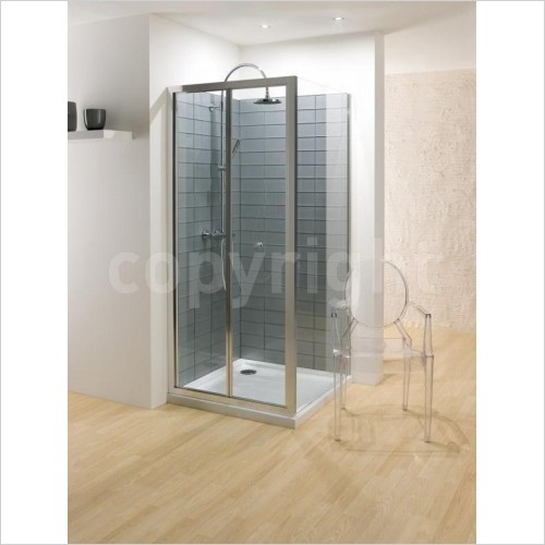 Simpsons Shower Enclosures - Edge Side Panel 700mm