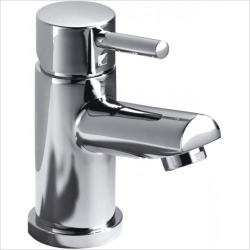 Storm Mini Basin Mixer With Click Waste