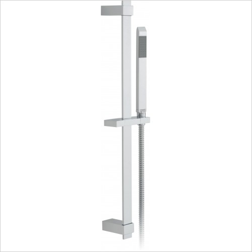 VADO Showers - Omika Single Function Slide Rail Kit With Single-Function