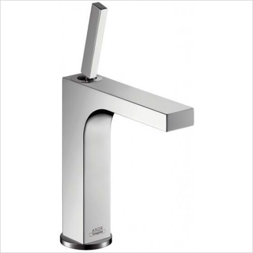 Axor Taps - Citterio Single Lever Basin Mixer 160 With Pop-Up Waste