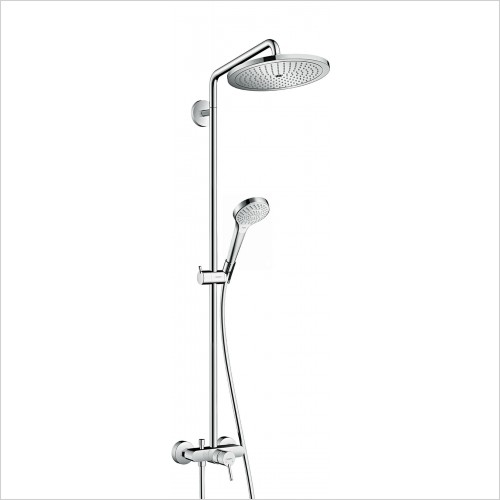 Hansgrohe Showers - Croma Select S 280 Air 1Jet Showerpipe, Single Lever Mixer