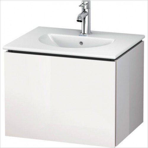 Duravit Furniture - L Cube Single Drawer Vanity Unit 520 - In White High Gloss