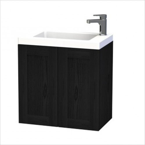 Miller Furniture - London Vanity Unit 60cm With 2 Doors