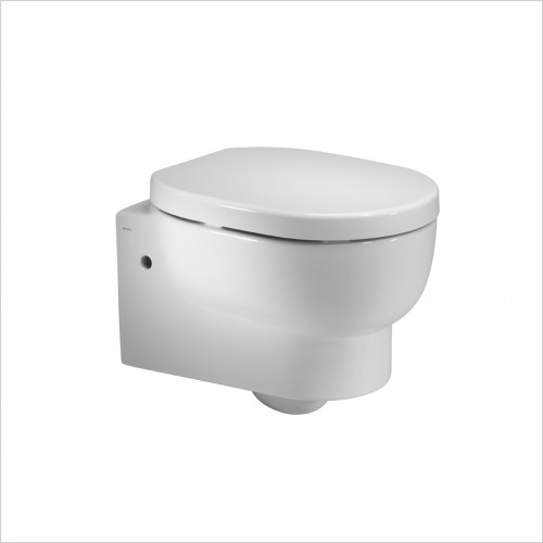Roper Rhodes Toilets - Zest 500mm Back To Wall WC  Toilet Pan