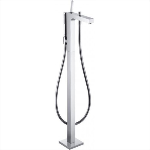 Axor Showers - Citterio Floorstanding Single Lever Bath Shower Mixer