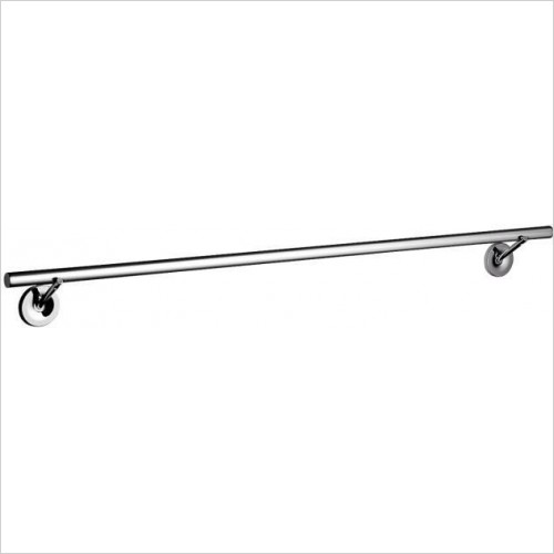 Axor Accessories - Starck Bath Towel Holder - Large 930mm