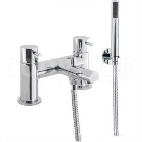 Crosswater Showers - Kai Lever Bath Shower Mixer, Deck Mounted