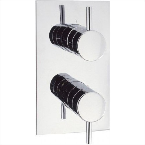 Crosswater Showers - Kai Lever Thermo Shower Valve 3 Way Diverter