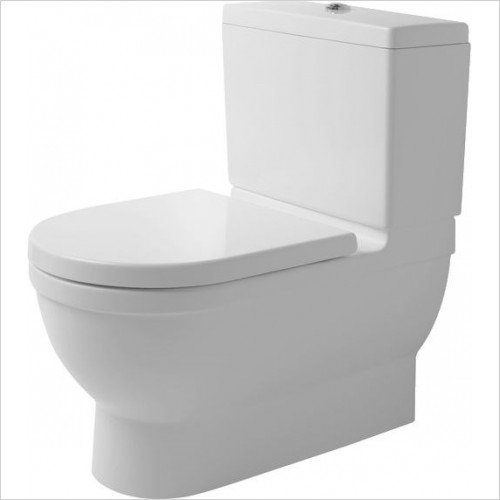 Duravit - Toilets - Starck 3 Big Toilet 740mm Vario Outlet Washdown Closed