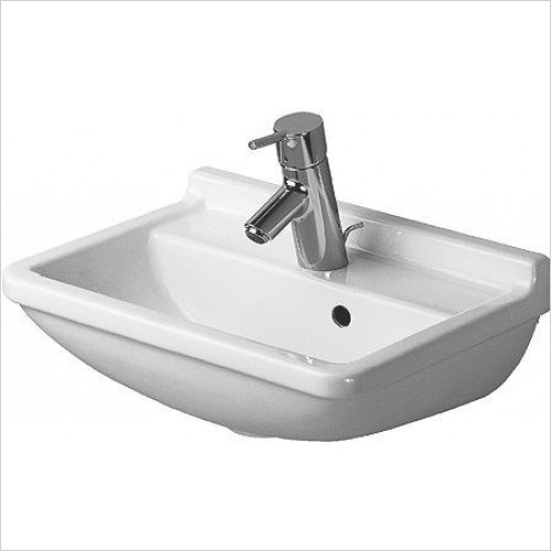 Duravit - Basins - Starck 3 Handrinse Basin 450mm TH Pre-Punched