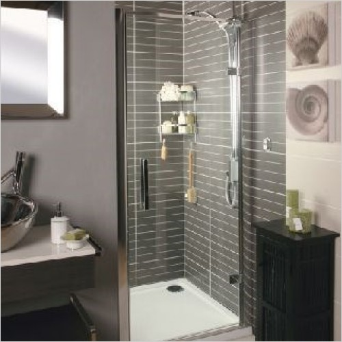 Roman Shower Enclosures - Embrace Hinged Door 760mm