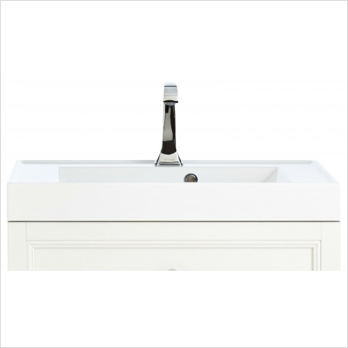 Heritage Basins - Hampstead Basin For Caversham Wall Hung Vanity Unit 1TH