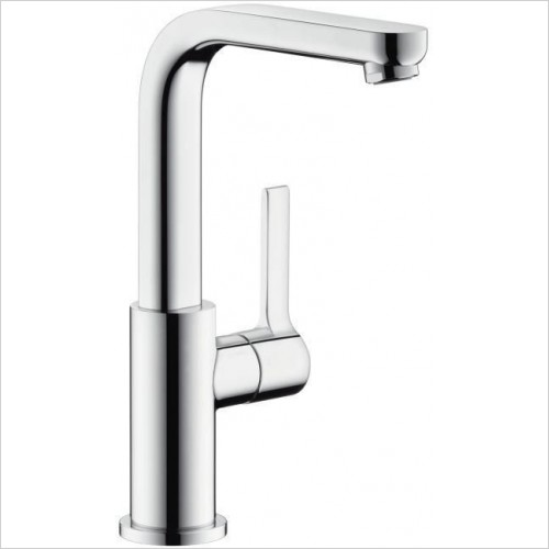 Hansgrohe Taps - Metris S Basin Mixer With Swivel Spout & Waste Kit